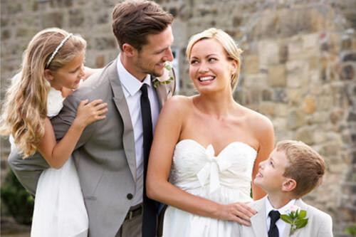 Δεύτερος γάμος με παιδιά